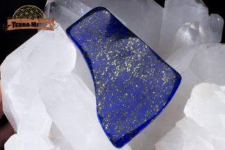 Plaque semi polie de Lapis Lazuli de qualité supérieure