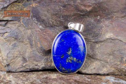 Pendentif de Lapis Lazuli monté sur argent 925