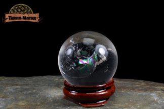 Sphère de cristal de roche