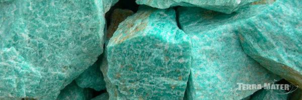 microcline, amazonite