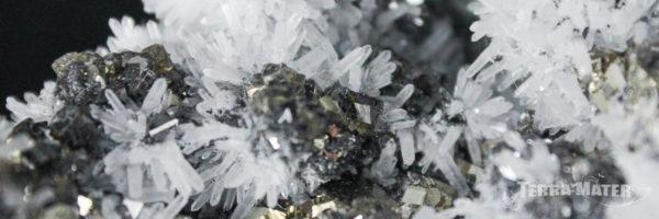Quartz, Pyrite et Galène