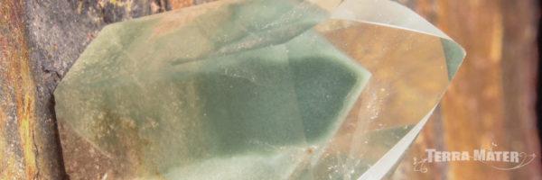 Quartz à fantôme de chlorite