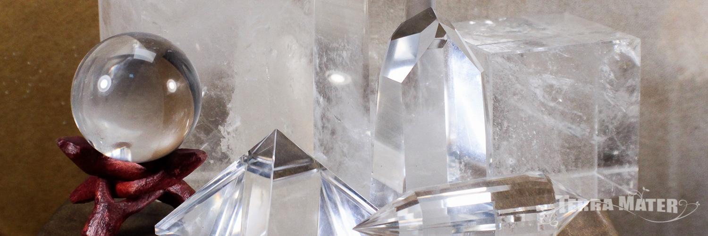 Cristal de roche - Quartz Hyalin