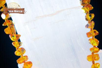 Collier d'ambre jaune de la mer baltique - Lituanie