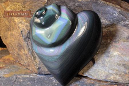 Obsidienne Oeil Céleste - Pièce unique de qualité AA