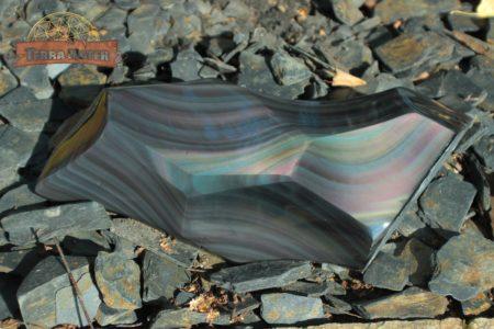 obsidienne oeil céleste d'Oregon - Forme libre, pièce unique 1,2 kg