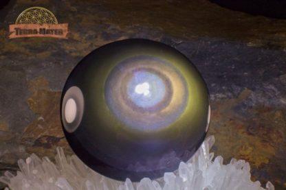 Galet d'Obsidienne Oeil Céleste AAA)