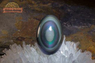 Oeuf d'Obsidienne Oeil Céleste AAA