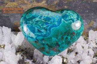 Coeur en Chrysocolle