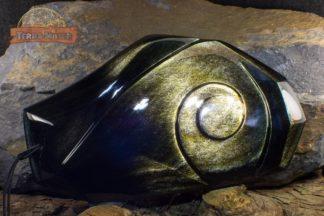 Grande Obsidienne Dorée 23 cm - 590 g