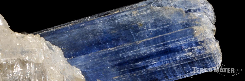 Cyanite (disthène) - pierre bute et polie, bracelets, pendentifs, lithothérapie