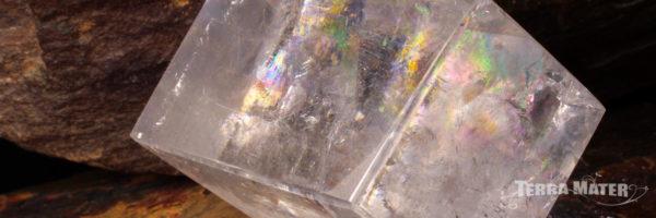 Spath d'Islande - Calcite optique