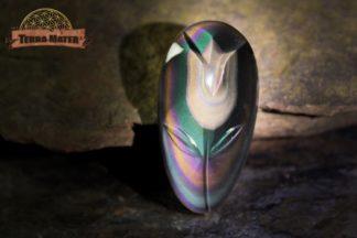 Cabochon AAA Suprême en obsidienne Oeil Céleste