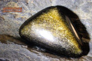 Petit Galet d'Obsidienne Dorée 16 g