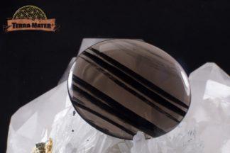 Cabochon en obsidienne Midnight Lace d'Arménie