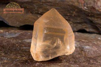 Cristal de quartz hématoïde brut