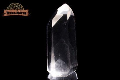 Pointe de cristal de roche à Fantôme 7,3 cm