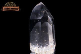 Pointe de cristal de roche à Fantôme 6,4 cm