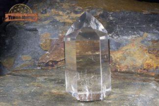 Pointe de cristal de roche limpide 6 cm