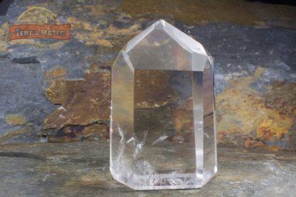 Pointe de cristal de roche limpide 7 cm
