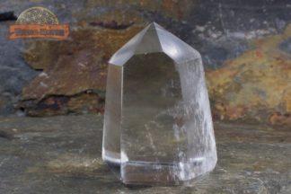 Pointe de cristal de roche limpide 4,5 cm