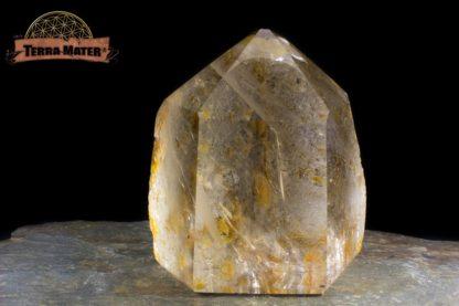 Pointe de cristal de roche 8 cm