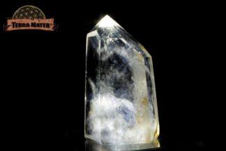 Pointe de cristal de roche poli 10 cm - 387 g