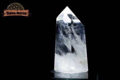 Pointe de cristal de roche poli 9 cm - 251 g