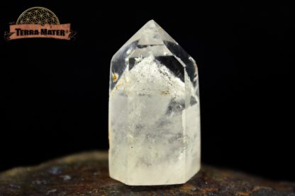 Cristal de roche à fantôme