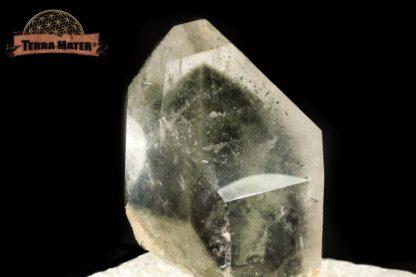 Cristal de roche à fantôme de chlorite d'Himalaya