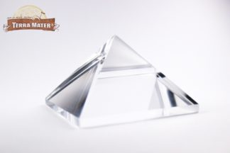Pyramide en cristal de roche pur d'Himalaya