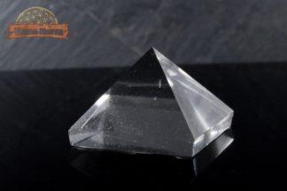Pyramide en cristal de roche -Pyramide de quartz du Brésil - pièce unique