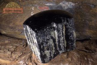 Tourmaline noire semi polie du Brésil