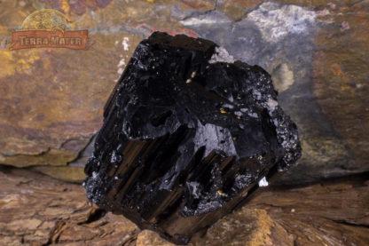 Tourmaline noire de Madagascar monoterminée