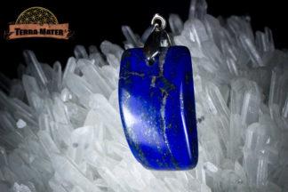 Pendentif de Lapis Lazuli AAA, Sar-e Sang, Badakhshan, Afghanistan