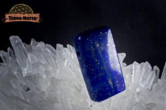 Pavé de lapis lazuli partiellement poli de qualité exceptionnelle. Sar e Sang, Afghanistan